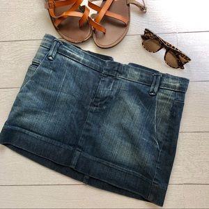 Joe's Jeans denim jean skirt Jagger dark wash
